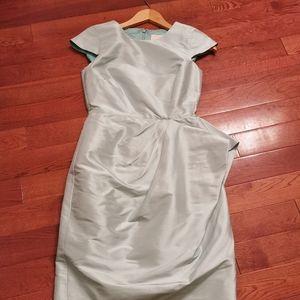 NWOT J. Crew 100% silk wedding party dress